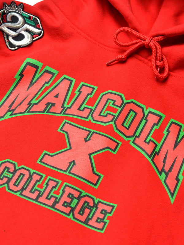 FTP Malcolm X College Classic '91 Hoodie Red