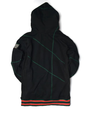 "FTP Chicago State University AACA Original '92 ""Frankenstein"" Stitched Hoodie Black/Green"