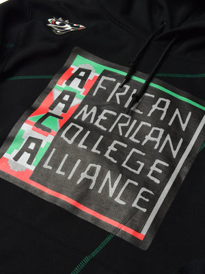 "FTP AACA Original '92 ""Frankenstein"" Stitched Hoodie Black/Green"
