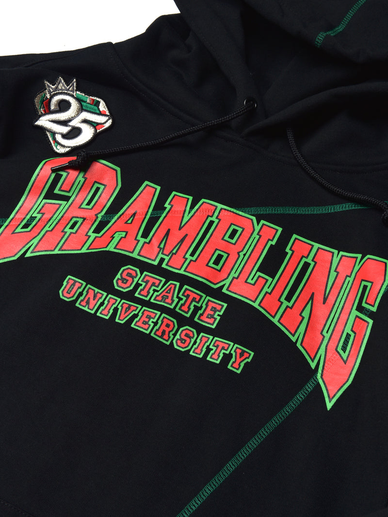 "FTP Grambling State University AACA Original '92 ""Frankenstein"" Stitched Hoodie Black/Kelly Green"
