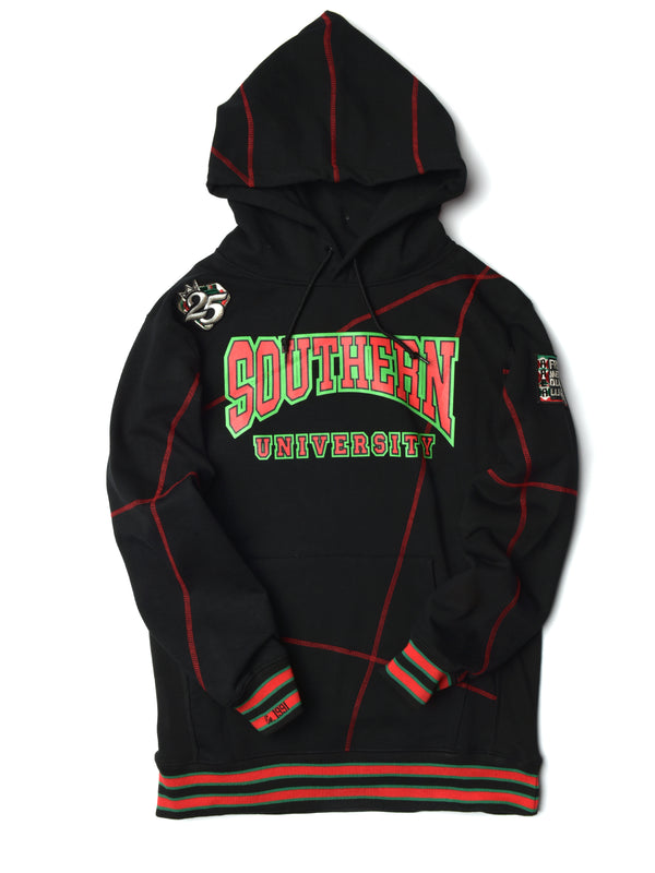 "FTP Southern University Original '92 ""Frankenstein"" Stitched Hoodie Black/Red"