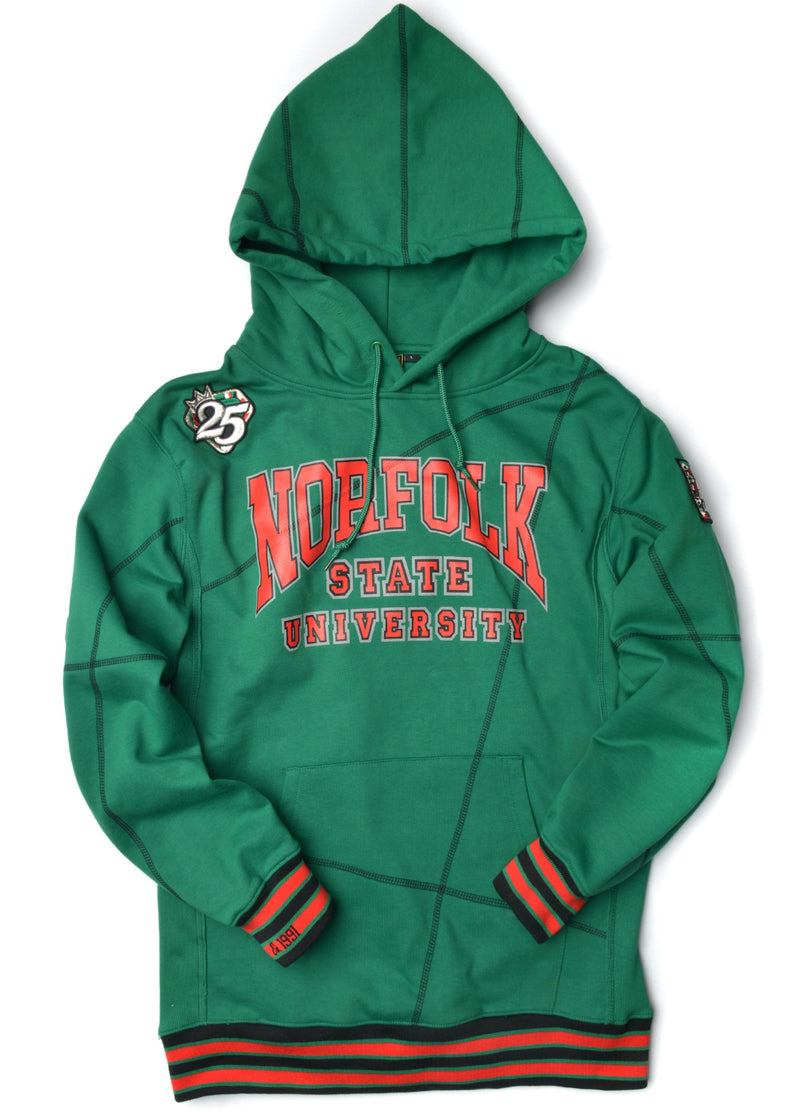 "FTP Norfolk State Original '92 ""Frankenstein"" Stitched Hoodie Kelly Green/Black"
