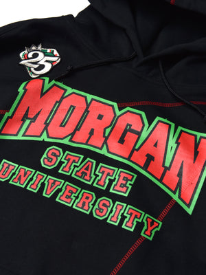 "FTP Morgan State Original '92 ""Frankenstein"" Stitched Hoodie Black/Red"