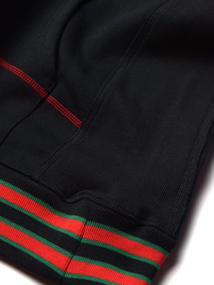 "FTP AACA Original '92 ""Frankenstein"" Stitched Hoodie Black/Red"