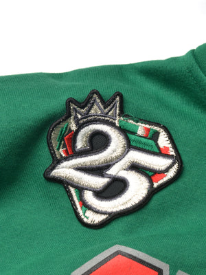 "FTP Chicago State University AACA Original '92 ""Frankenstein"" Stitched Hoodie Sweatsuit Kelly Green/Black"