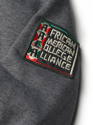 "FTP AACA Original '92 ""Frankenstein"" Stitched Hoodie Charcoal Grey / Red"