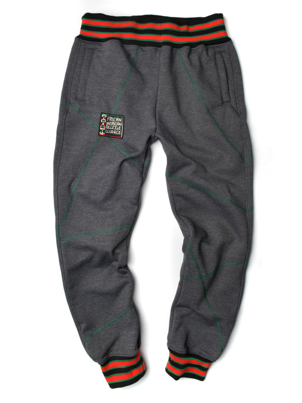 "FTP Original '92 ""Frankenstein"" Stitched Sweatpants Charcoal Grey/Kelly Green"