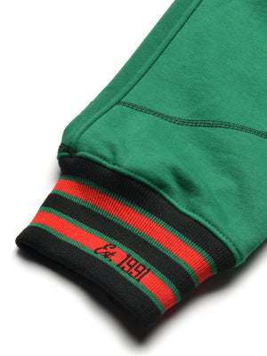 "FTP Original '92 ""Frankenstein"" Stitched Sweatpants Kelly Green / Black"