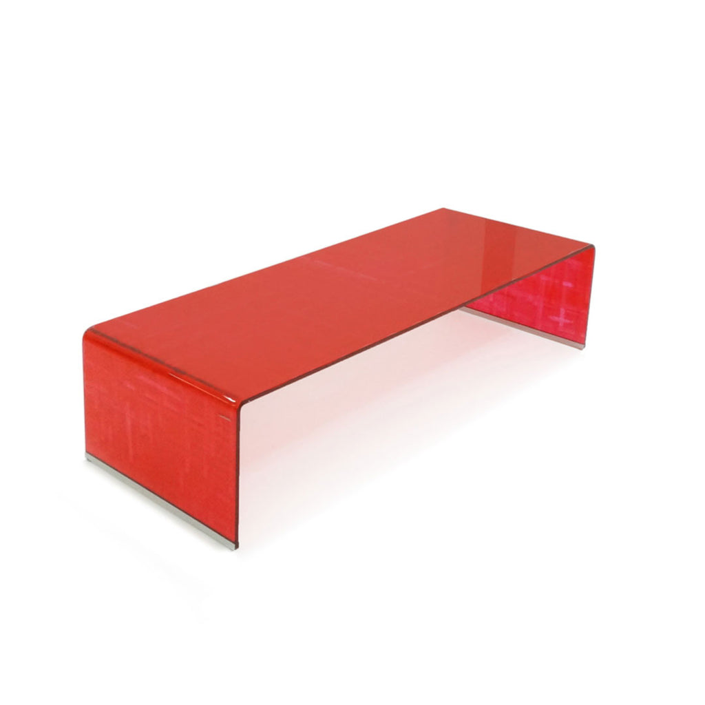 Mesa de Centro Brug - Translucent Red Hatch