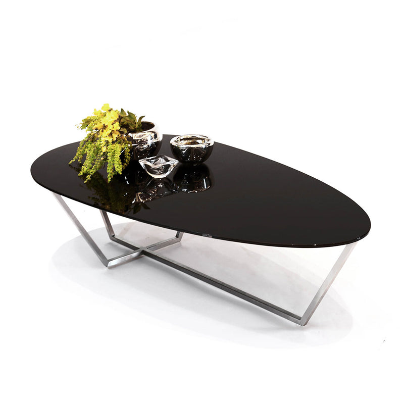 Mesa de Centro Drop - Solid Black