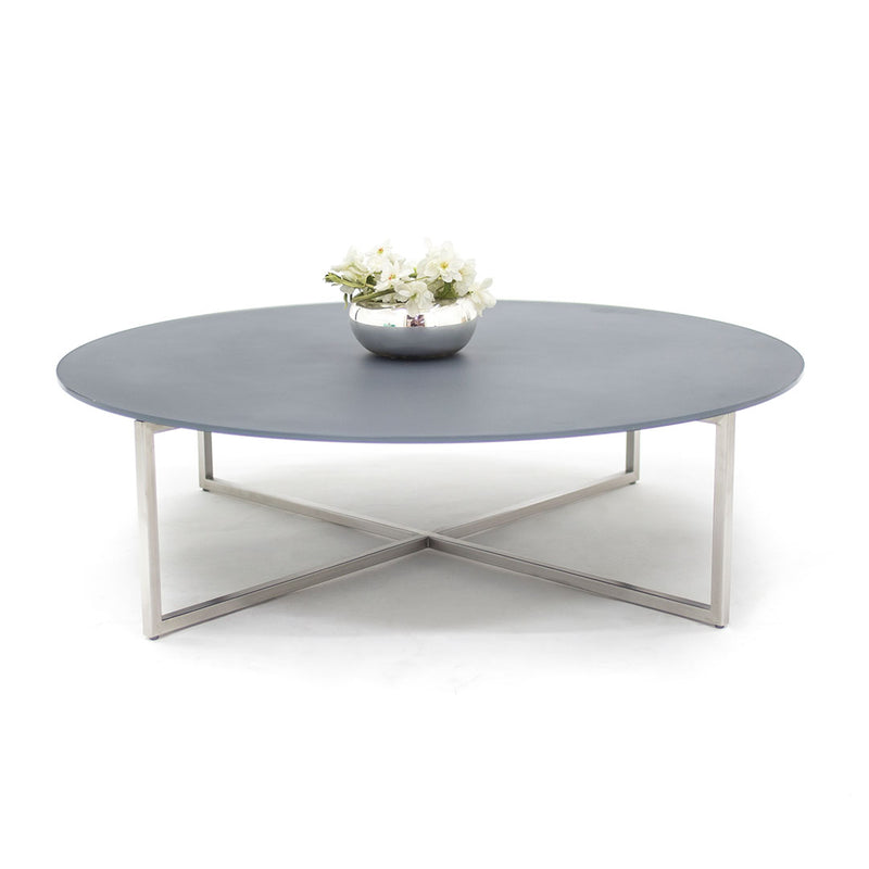 Mesa de Centro Null - Solid Frosted Gray