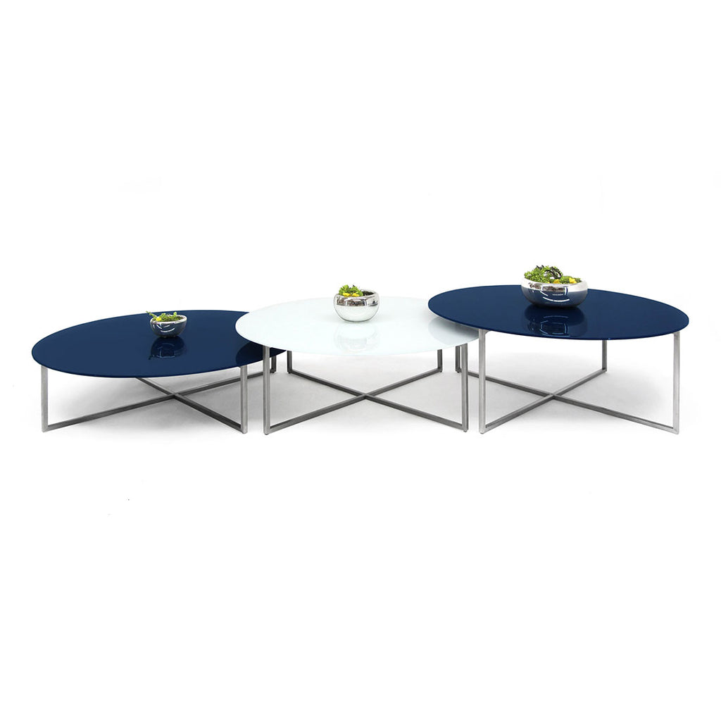 Mesa de Centro Null - Solid Royal Blue & White