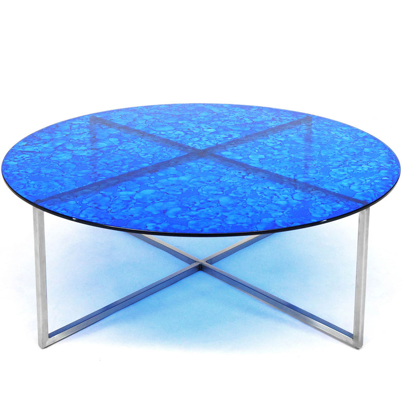 Mesa de Centro Null - Translucent Electric Blue Splotch