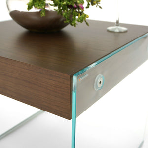 Mesa Lateral Graffetta - Extraclear & Walnut