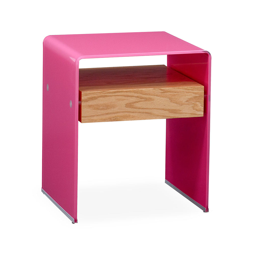 Mesa Lateral Graffetta - Solid Pink & Light Oak