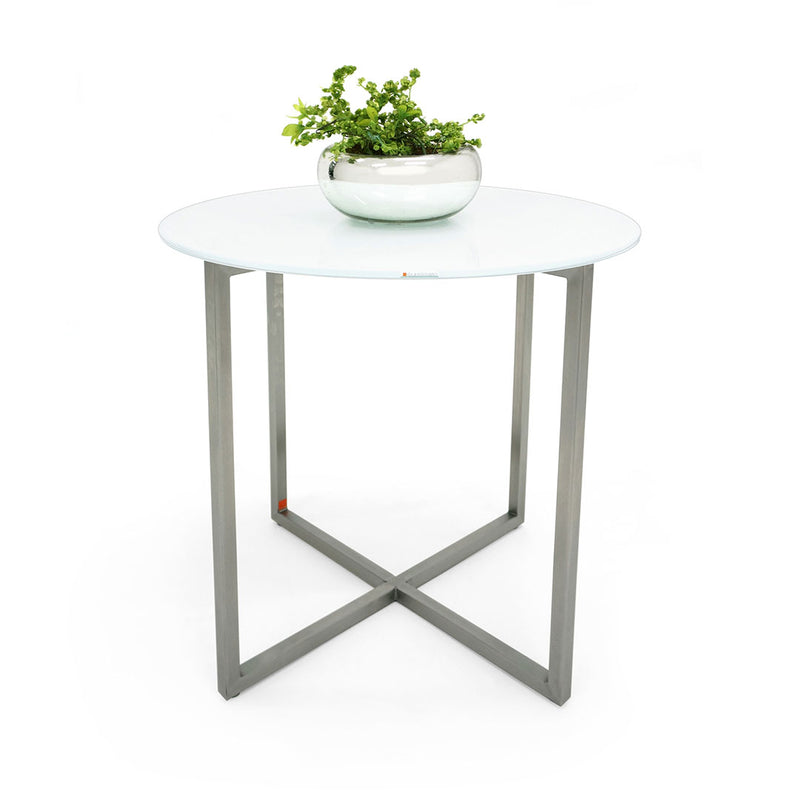 Mesa Lateral Null - Solid White & Gray