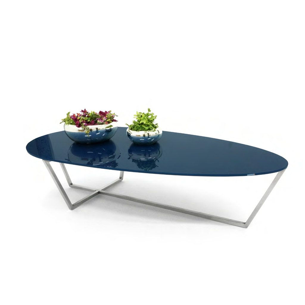 Mesa de Centro Drop - Solid Royal Blue