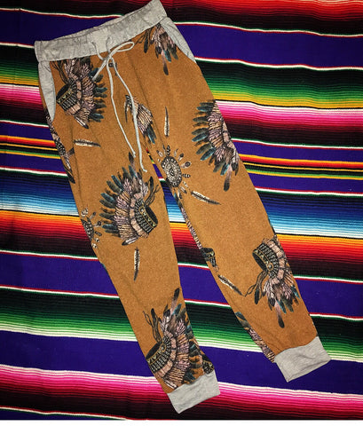 Mustard Headdress Pants