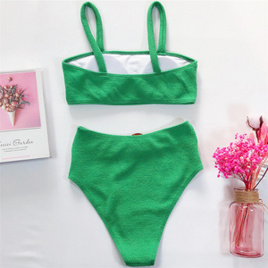 Lily High Waist Bikini Set