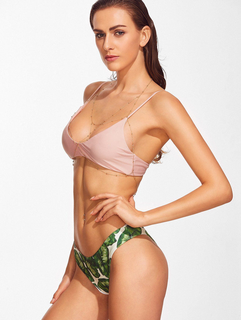 Bikini N' Waves: Swimsuit - Natural Soft Bikini Set
