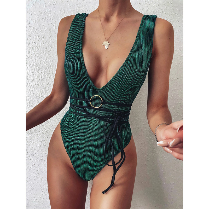 Lisa Belt Swimsuit
