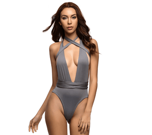 Bikini N' Waves: One Piece Swimsuit - V-Neck Miracle Swimsuit