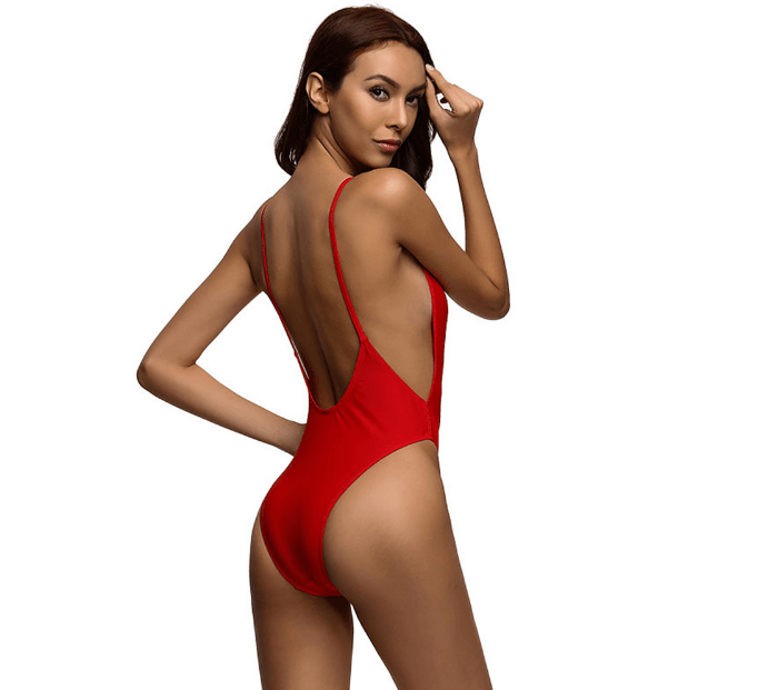 Bikini N' Waves: One Piece Swimsuit - Summer Style Backless Swimsuit