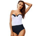 Bikini N' Waves: One Piece Swimsuit - One Piece Push Up Swimsuit