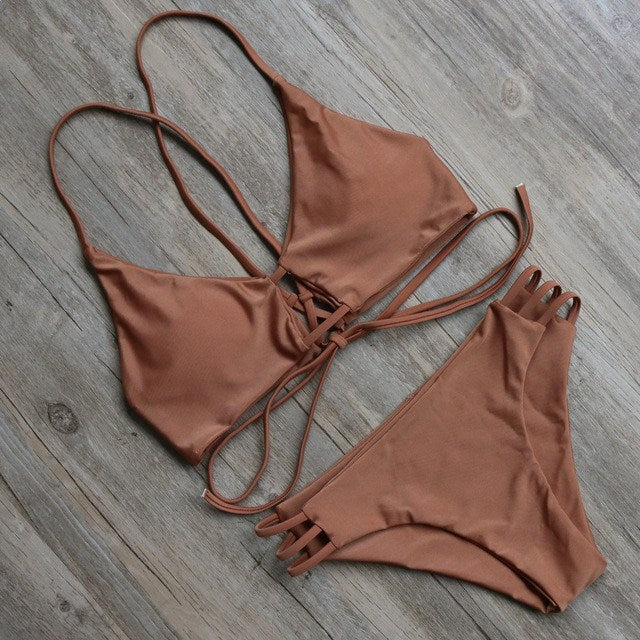 Bikini N' Waves: Bikini Set - Natural Fit Bikini Set