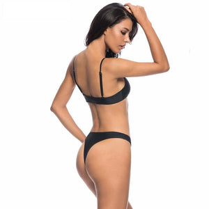 Bikini N' Waves: Two Piece Swimsuit - Granada High Cut Thong Bikini Set