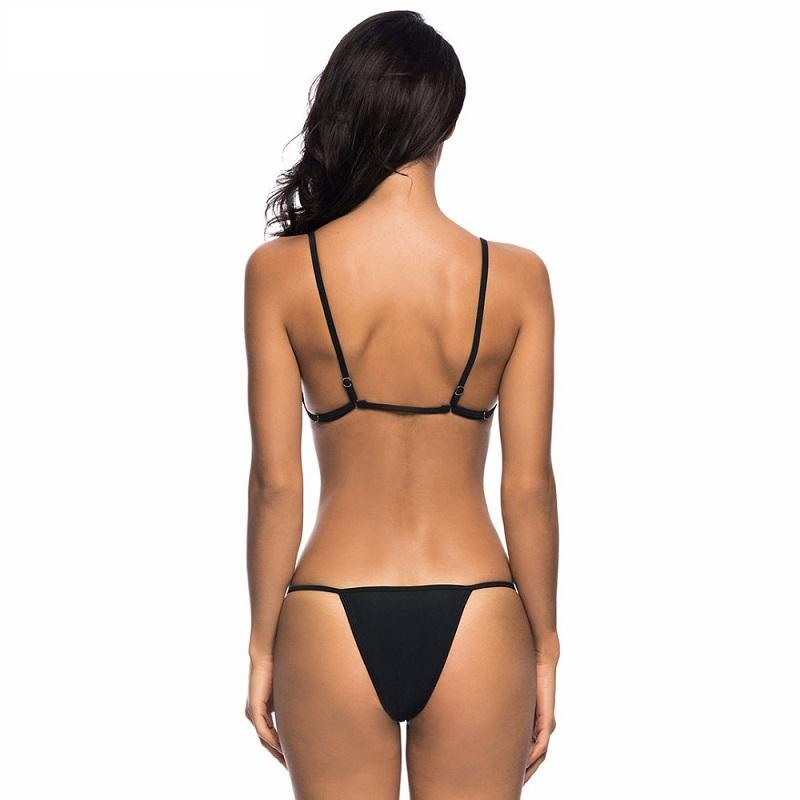 Spain Micro Triangle Bikini Set