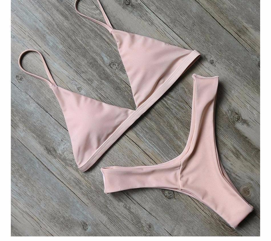 Bikini N' Waves: Two Piece Swimsuit - Exuma Basic Elegant Bikini Set