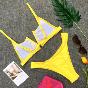 Bikini N' Waves: Two Piece Swimsuit - Seven Mile Fancy Bikini Set