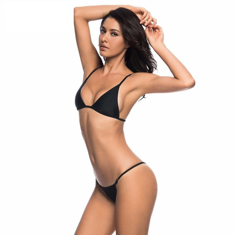Bikini N' Waves: Two Piece Swimsuit - Spain Micro Triangle Bikini Set