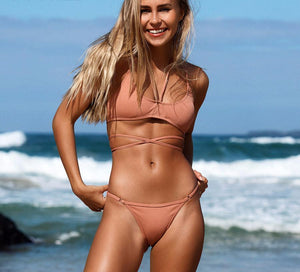Bikini N' Waves: Two Piece Swimsuit - Soft Bondi Beach Bikini Set