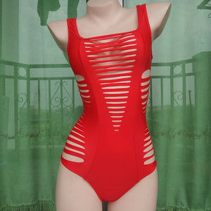 Bikini N' Waves: One Piece Swimsuit - Cut Out Sexy Monokini