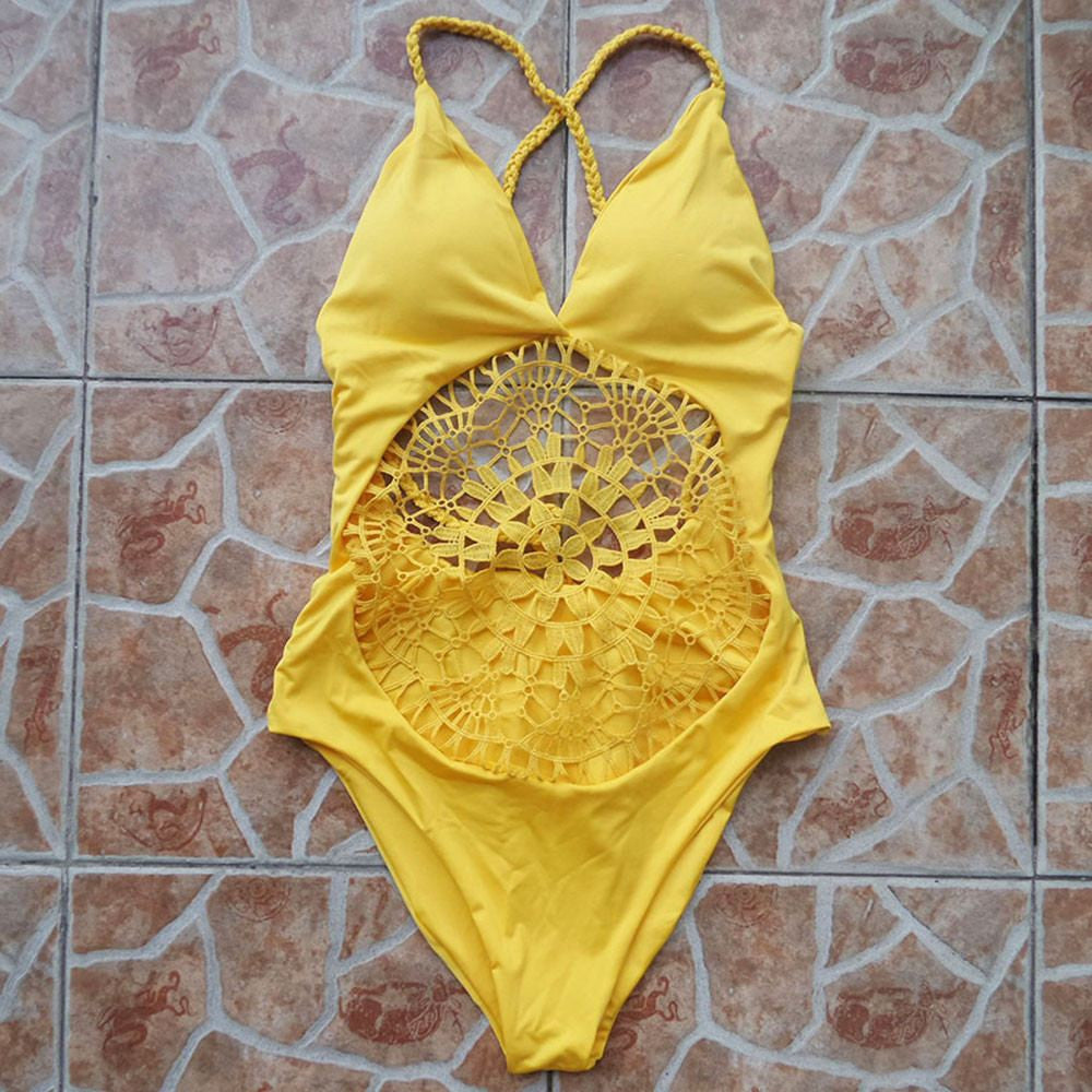 Crochet One Piece Swimsuit