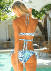 Bikini N' Waves: Two Piece Swimsuit - Hamburg Bandage Cross Bikini Set