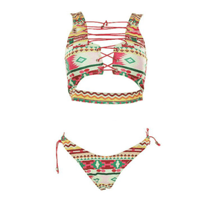 Bikini N' Waves: Two Piece Swimsuit - Las Vegas Seductive Bikini Set