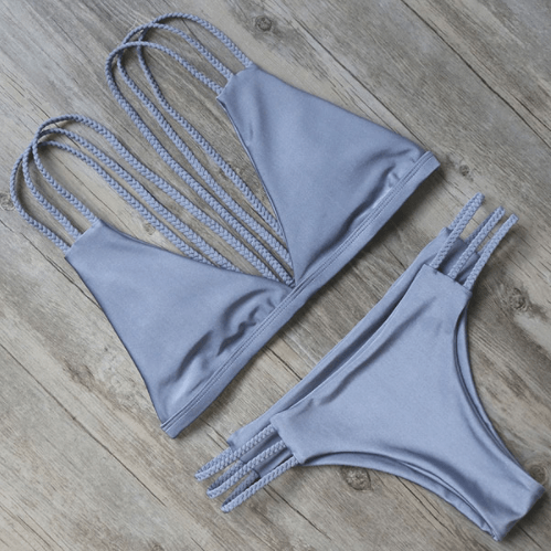 Soho Multi Strap Bikini Set