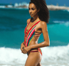 Bikini N' Waves: Two Piece Swimsuit - South Africa Inspired Bandage Monokini