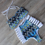 Seville High Waist Strappy Swimsuit