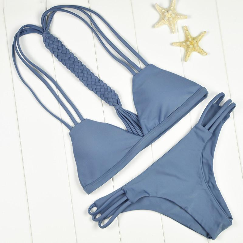 Bikini N' Waves: Bikini Set - Sophisticated Braided Bikini Set