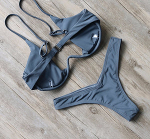 Bikini N' Waves: Two Piece Swimsuit - Bahamas Luxury Bikini Set