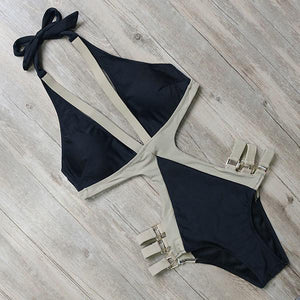 Bikini N' Waves: One Piece Swimsuit - Gold Coast Vintage Swimsuit