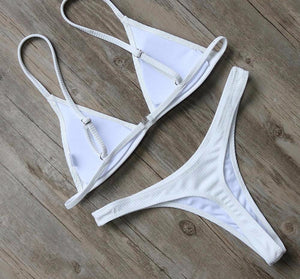 Bikini N' Waves: Two Piece Swimsuit - Marseille Boutique Thong Bikini Set