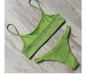 Bikini N' Waves: Two Piece Swimsuit - Buenos Aires Sleek Bikini Set