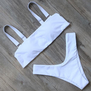 Bikini N' Waves: Two Piece Swimsuit - Tokyo Bandeau Lux Bikini Set