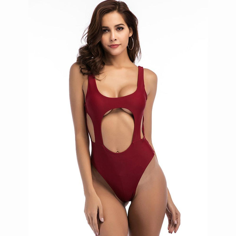 Bikini N' Waves: One Piece Swimsuit - Sydney Cut Out Monokini