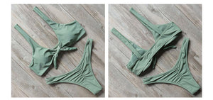 Bikini N' Waves: Two Piece Swimsuit - Puerto Vallarta Thong Bikini Set